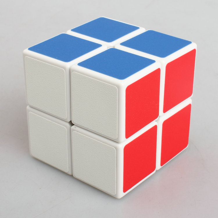Magic Cube Neo Professional 2x2x2 50mm PVC&Matte Stickers Cubo Magico Speed Classic Toys Colorful Challenge White Body(China (Mainland))