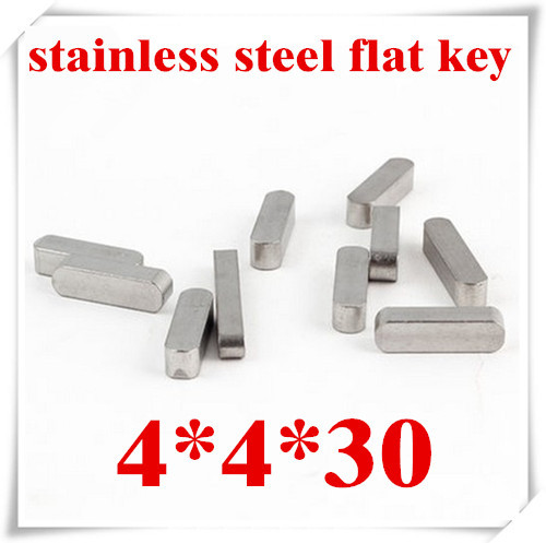 high quality 4*4*30  4mm stainless steel parallel pins flat key<br><br>Aliexpress