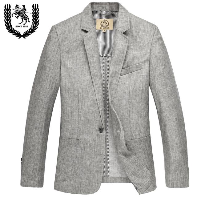 2016 новое поступление мужской пиджак весна белье тонкий одна кнопка мужская мода ...