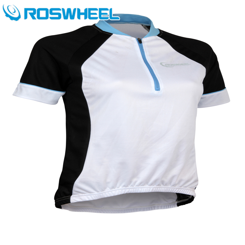 2015 Roswheel New womens cycling jerseys outdoor bicycle bike short Sleeves Jersey summer breathable quick dry outerwear(China (Mainland))