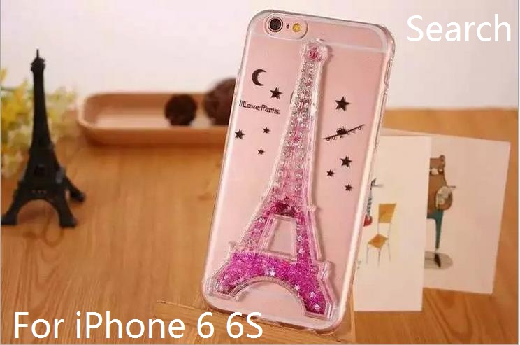 (100 pieces/lot) Wholesale Competitive Factory Price For iPhone 6 6S Eiffel Tower Paris Soft TPU Case For iPhone 6 PLUS Cover(China (Mainland))