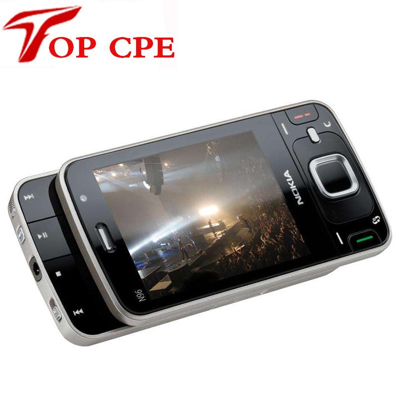 Refurbished N96 Original Mobile phone Nokia N96 16GB Storage 3G WIFI GPS Camera 5MP Fast Free Shipping(China (Mainland))