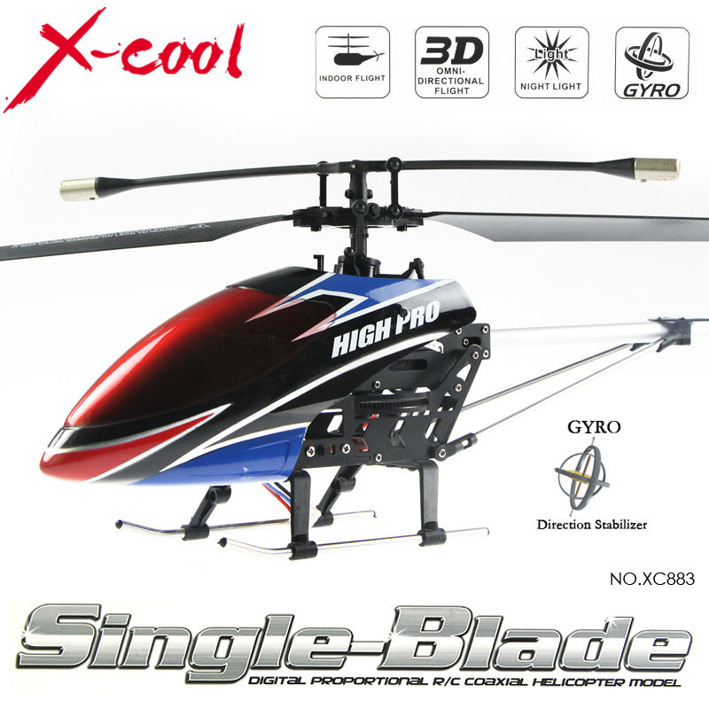 Free shipping New 2.4G 4ch gyro single blade helicopter/radio control 2.4G helicopter/rc toys(China (Mainland))