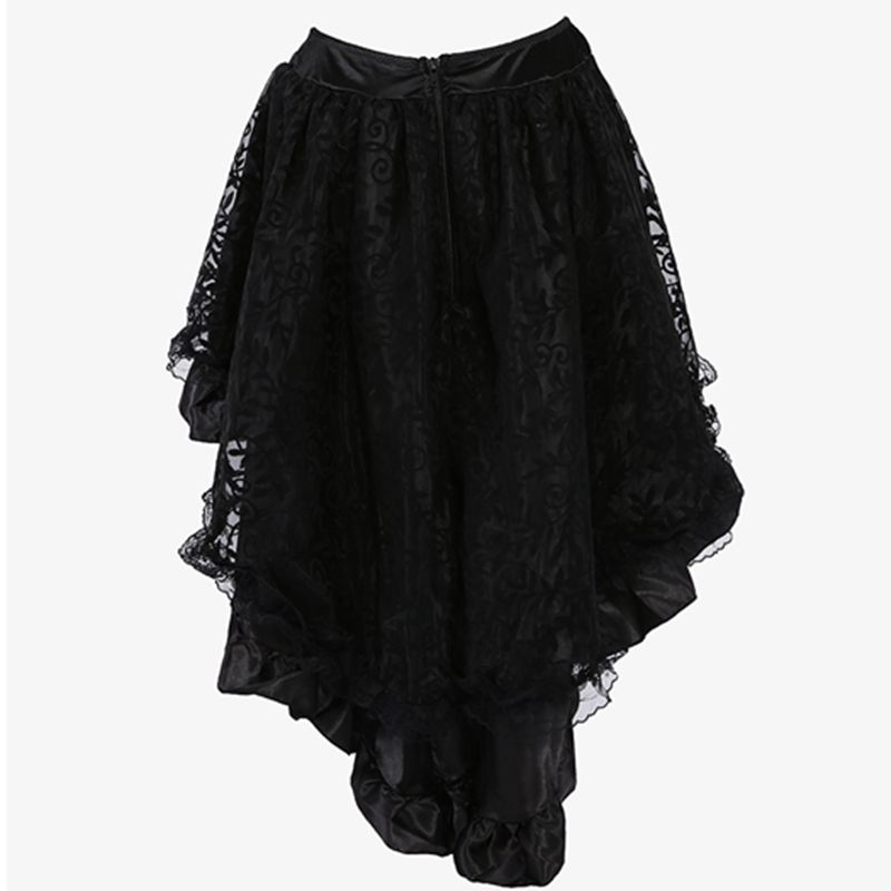 black lace skirt plus size clothing
