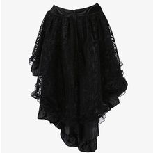 Black Lace Skirt Plus Size Women Clothing