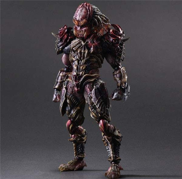 Free Delivery 11″ PlayArts KAI Predator Alien Hunter Boxed 27cm PVC Motion Determine Assortment Mannequin Doll Toy Present