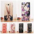 Back Cover Hard For Samsung Galaxy A3 2015 Case Flower Diamond Carcasas Coque For Galaxy A3