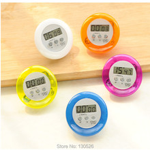 LCD Digital Kitchen Portable Round Magnetic Countdown Alarm Clock Timer with Stand Kitchen Cooking Tool kitchen Accessories