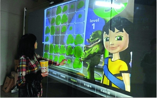 21 5 inch Dual Interactive Touch Foil Capacitive Multi Touch Panel Foil Multi Touch Film for