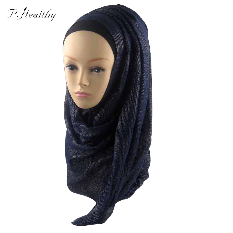 Cotton Jersey Hijabs For Women 2016 New Fashion Muslim Scarf & Wrap 20 Colors Solid Islamic Headband Turkish Scarf ch010 z35(China (Mainland))