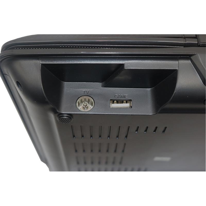 ถูก ใหม่7นิ้วTFTหน้าจอแสดงผลดีวีดีแบบพกพาEVDทีวีเครื่องเล่นVCDซีดีMP3/4 USBเกมมือถือทีวีสำหรับสหภาพยุโรปซ็อกเก็ตเสียบแบตเตอรี่แบบชาร์จไฟ