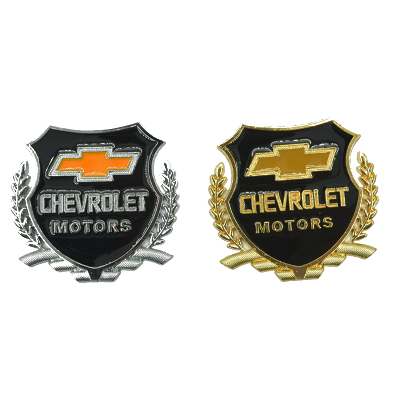 3D Car Sticker Metal Logo Sign Symbol Accessories For Chevrolet Colorado Cruze Spark Captiva Malibu Trax Aveo Car - Styling(China (Mainland))