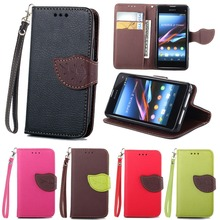 Buy Leather Case SONY Xperia Z1 mini D5503 M51W Z1 Compact Book Style Flip Stand Leather Cover Sony Z1 mini D5503/Z1 Compact for $3.37 in AliExpress store