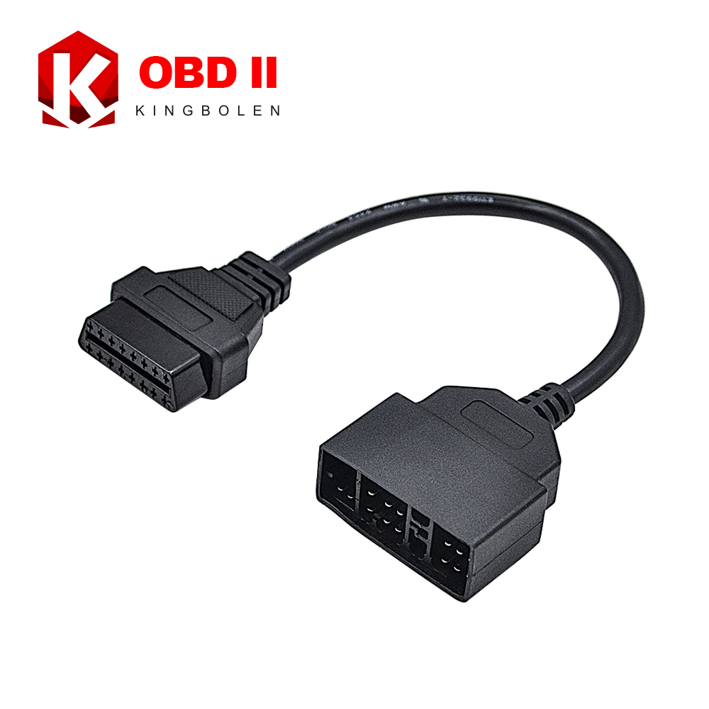 High Quality OBD II 16 Pin to Toyota 22pin Female OBD 2 Cable Connector Adapter With 2 Years Warranty(China (Mainland))