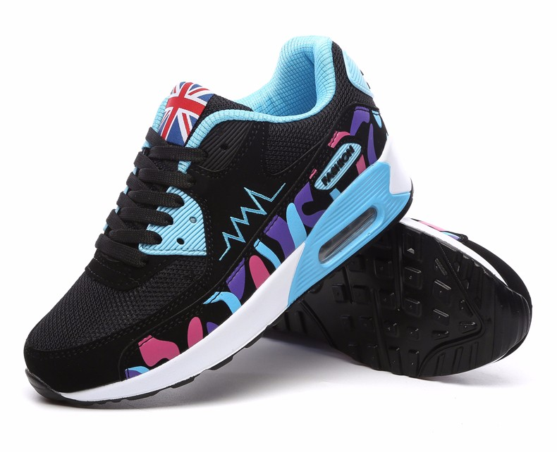 Hot Sale New 2016 Fashion Flats Women Trainers Breathable Sport Woman Shoes Casual Outdoor Walking Women Flats Zapatillas Mujer