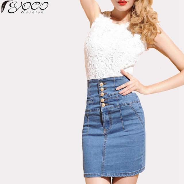 Осень 2015 новая европа и соединенные штаты женское юбка мода ретро - талия тонкие ...
