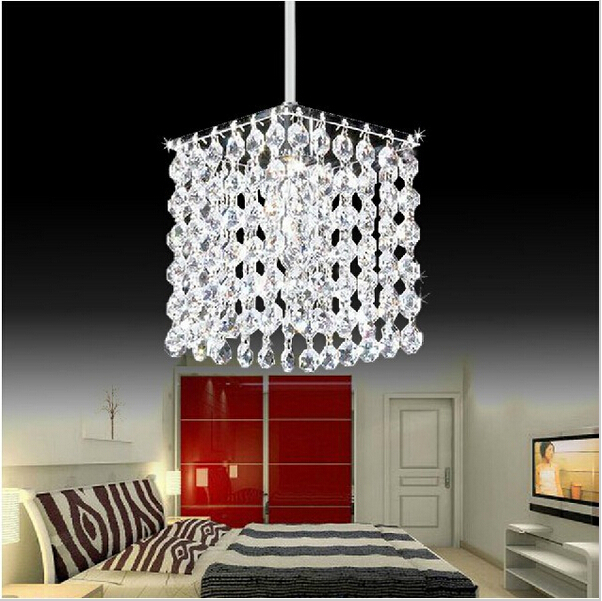 Modern crystal chandelier crystal lamps high quality LED lamps living room chandeliers E27 led lustre light chandeliers(China (Mainland))