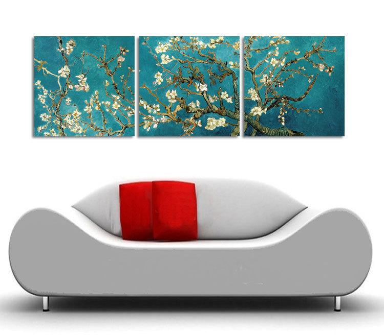 Online kopen wholesale amandel boom blossom uit china amandel boom blossom groothandel - Foto van slaapkamer schilderij ...