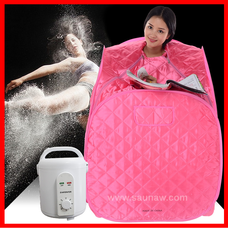 Stress relief, overal health conditioning, body slimming portable steam sauna room, Super inflatable steam sauna cabin sauna spa(China (Mainland))