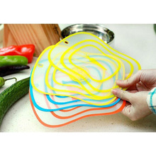 Portable Plastic Chopping Block Non-slip Frosted Antibacteria Cutting Board Vegetable Meat Essential(China (Mainland))