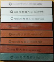 Adaee Professional Kitchen Knife Sharpener 1 Peice For Sharpening Stone 80# 180# 400# 800# 1000# 1500# 2000# 3000#(China (Mainland))