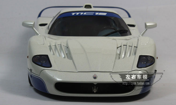 AUTOart 1/18 Scale Italy Maserati MC12 Diecast Steel Automotive Mannequin Toy New In Field For Assortment/Reward/Ornament