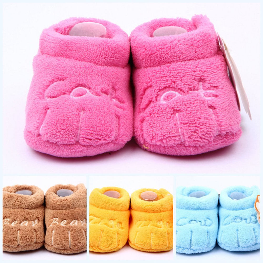 Cotton Lovely Baby Shoes Toddler Unisex Soft Sole Skid-proof Kids girl infant Shoe First Walkers,prewalker 0-12 Months 11.5cm(China (Mainland))