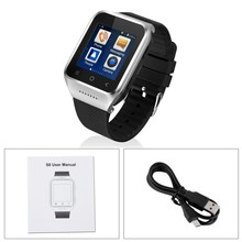 Original 3G Smartwatch ZGPAX S8 Smart Watch Android With MTK6572 Dual Core 5 0MP Camera WCDMA