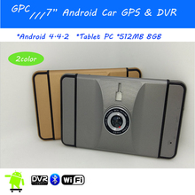 Newest 7″ Capacitive Screen Car GPS navigation Android +Wifi+DVR+Bluetooth +Full HD 1080P+170 Degree DVR