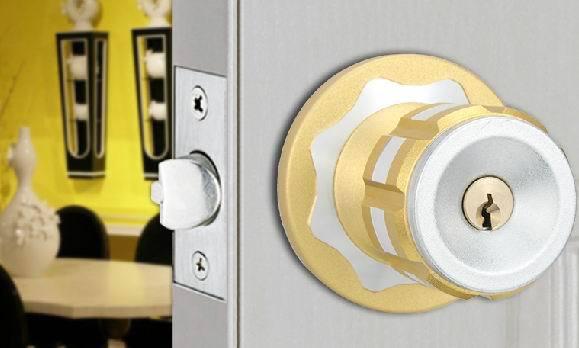 new design elegant aluminum office round grip locker keyed