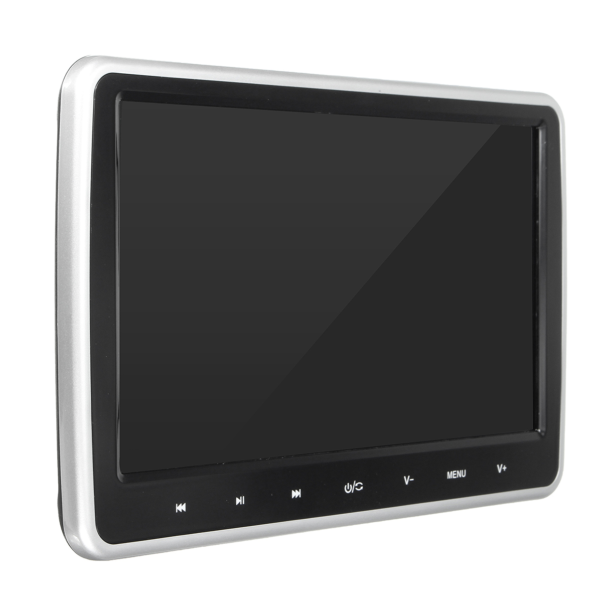 Best Price 10 inch Portable LCD Car DVD Player Active HD Touch Headrest Monitor Game Handle(China (Mainland))