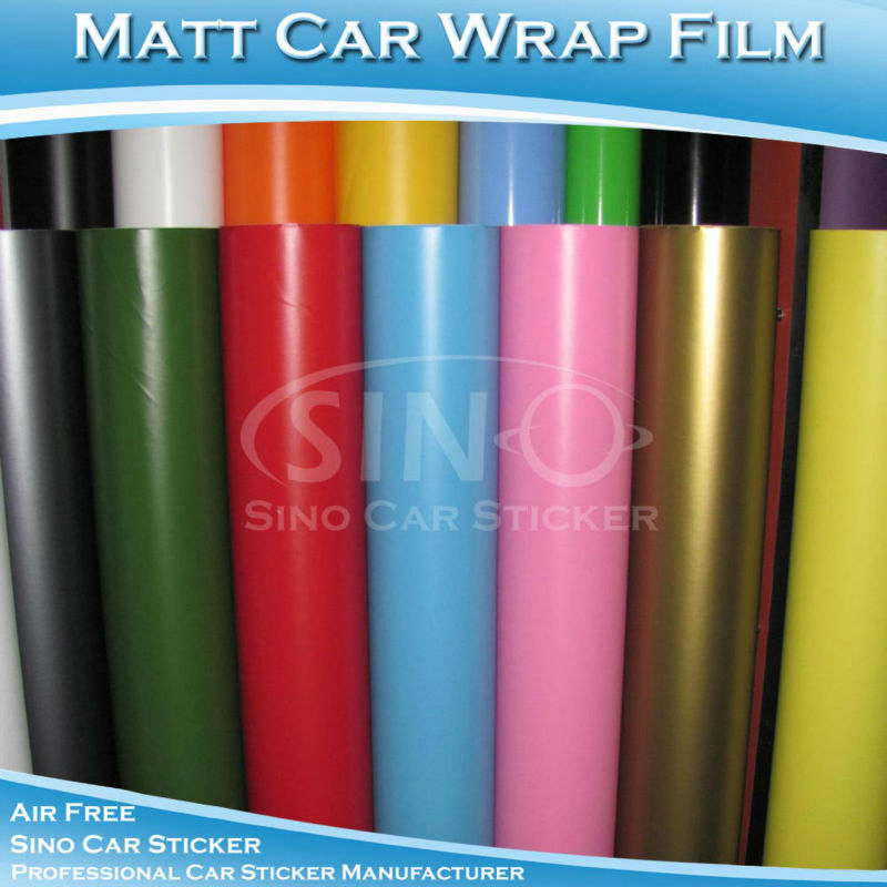 1.52x30M 5x98FT B3300 Matt Car Color Change Vinyl Film Car Color Changing Sticker(China (Mainland))
