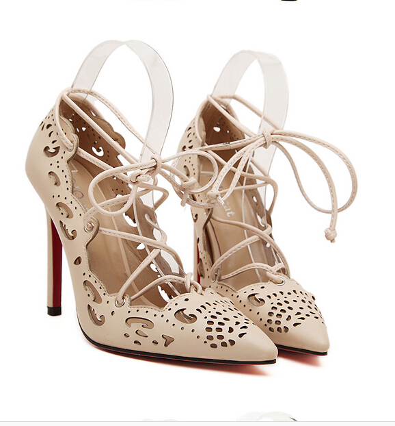 Red bottom high heels Women pumps zapatos mujer tacon 2015 sexy high heels woman shoes sapato feminino ladies shoes plus size
