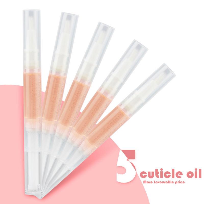 Cuticle Oil Nail Art Treatment Manicure Tool 5pcs Nail cuticle Oil Pen(China (Mainland))