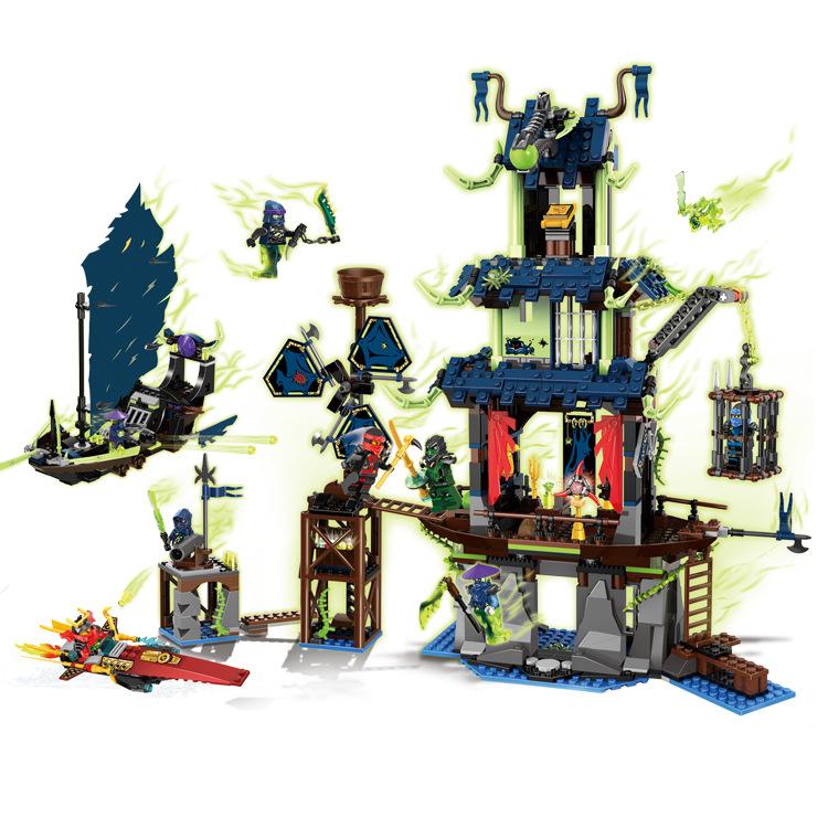 New 79124 LELE 1113Pcs Ninja City of Stiix Model Building Kits Minifigure Action Figures Kai Jay Blocks Set Bricks DIY Toys Gift<br><br>Aliexpress