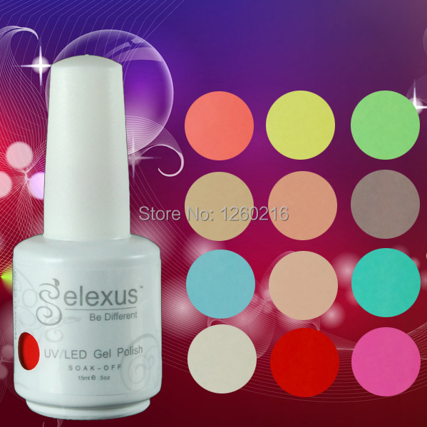 (Choose 6pcs) 15ml Gelexus Nail Gel Soak Off Gel Nail Polish UV 30 Days Long Lasting 343 Gorgeous Colors The Best Gel Polish(China (Mainland))