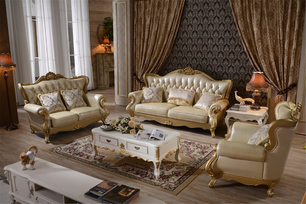 Sofas For Living Room Muebles Bolsa 2015 Sectional Sofa European Style Set Leather Hot Sale Low Price Factory Direct Sell Sofas<br>