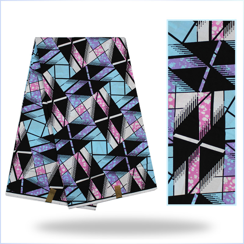 Guaranteed dutch wax African super wax Hollandais for Sewing Fabric.Super wax hollandais 100% High quality H16063005(China (Mainland))