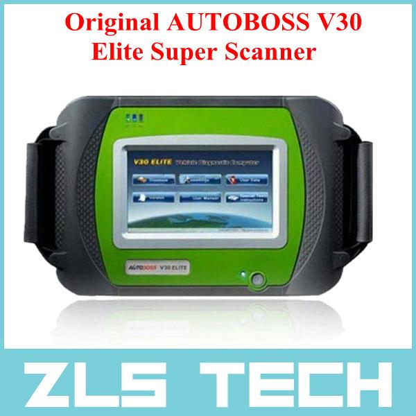 2015 Top Rated Original AUTOBOSS V30 Elite Super Scanner Multi-language Free Update Online with English + Russian Language(China (Mainland))