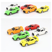 6PCS cute Mini pull back VehicleToy Cars Best Christmas birthday Gift Car ChildrenToys baby birthday Christmas gifts Wholesale(China (Mainland))