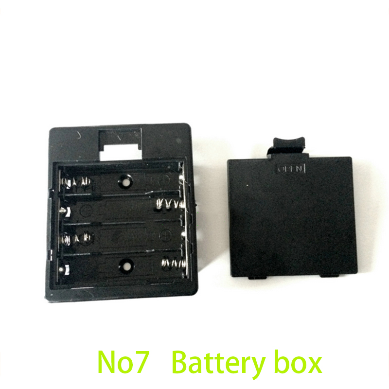 10pcs Plastic Safe Battery Box For 4pcs AAA 3A Baterias Plastic 6v Battery Holder Case Box AAA Battery Holder Storage Container(China (Mainland))
