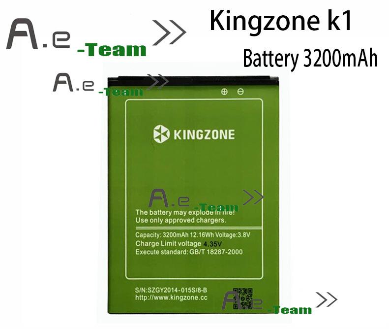 Kingzone k1 Battery Original 3200mAh Li ion Battery Replacement For kingzone k1 K1Turbo pro Smart Phone
