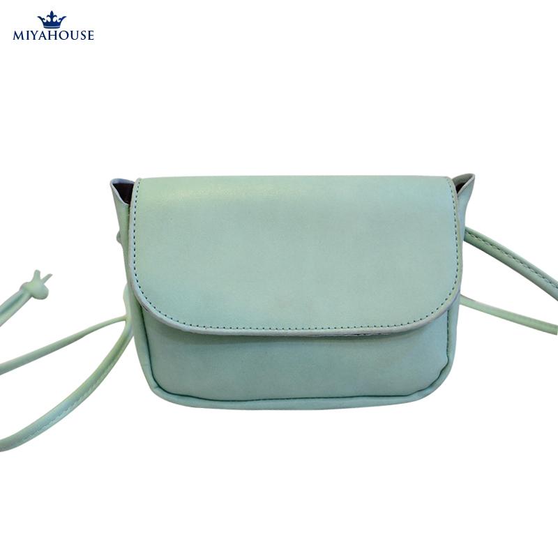 Fashion Style Candy Color Mini Shoulder Bag Phone Case Women Handbag PU Crossbody Bags For Female Messenger Bags Small Handbags(China (Mainland))