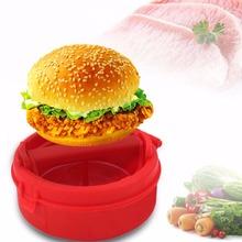 PREUP Plastic Stuffed Burger Press Hamburger & Patties Maker Hamburger Meat Press Cookware Kitchen Dining Bar Tool As Seen On TV