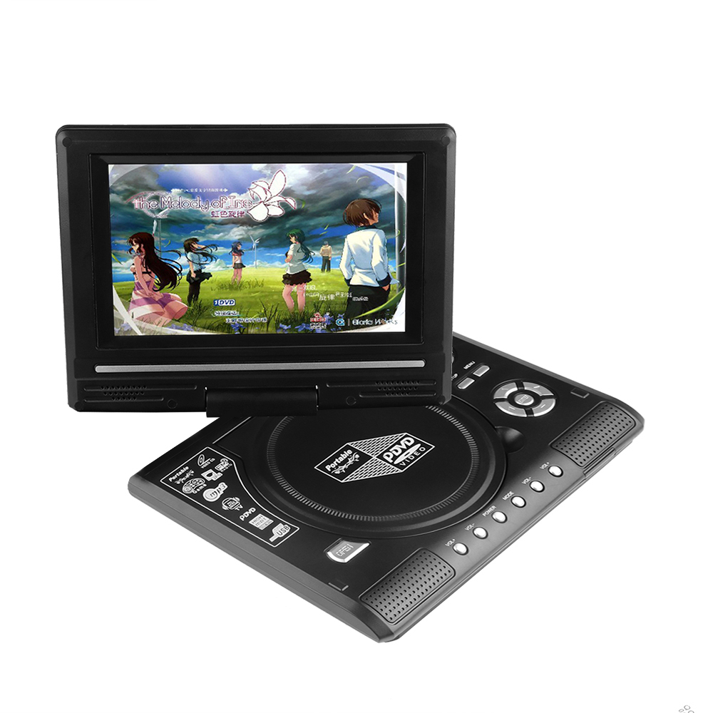 7.8 inch TFT Screen Portable Home DVD Player with TV Antenna Support TV Game Home Audio & Video Equipment DVD Players(China (Mainland))