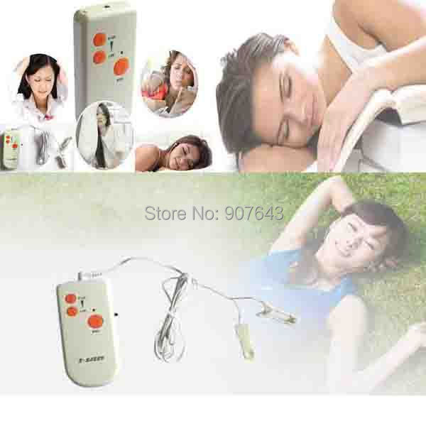 Sleep Digital Meridian health Care Ear clip device sleep aids Electronic Acupuncture massage Therapeutic Apparatus Parents Gifts(China (Mainland))