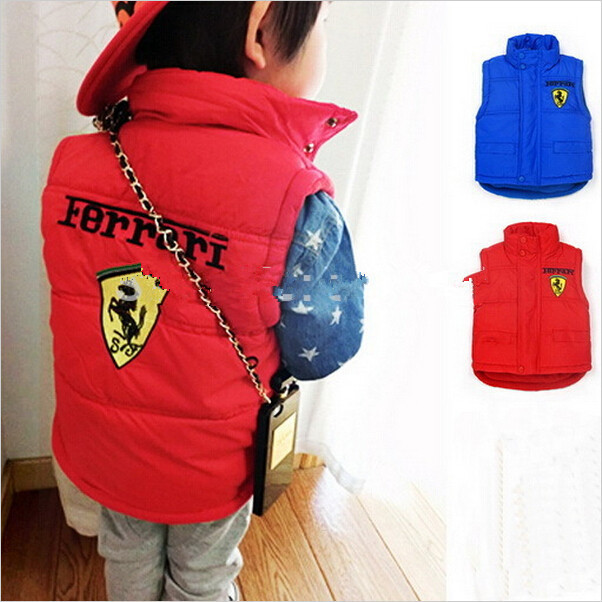 2014 new Autumn winter Yhildren outerwear, baby boy girl F1 vest WaistYoat, Yoat and jaYkets for YhildrenY1608(China (Mainland))