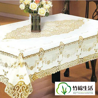 Fashion hot-selling bronzier cutout decorative pattern table cloth pvc waterproof oil disposable material hot-selling cutout(China (Mainland))