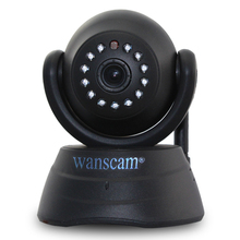 Wanscam P2P WiFi Wireless IP Camera Wirefree WLAN Cam Pan/Tilt Two-Way Audio CCTV Remote White Baby Monitor Free iOS App Android