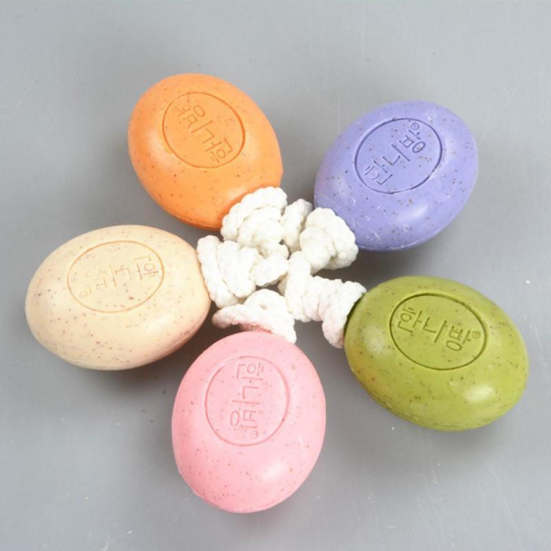 1 PC Volcanic Mud Handmade Soap Face & Body Beauty Healthy Care Decontamination whitening moisturizing Soap Z3(China (Mainland))